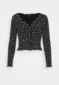 Monki - SANCY - Cardigan - black dark - 3