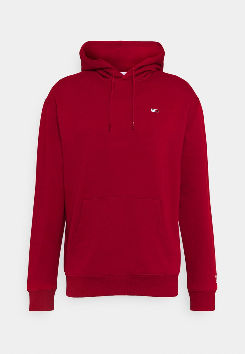 Tommy Jeans - CLASSICS HOODIE - Hoodie - wine red