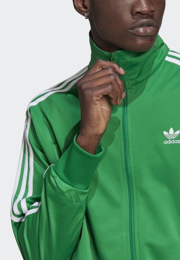 adidas Originals FIREBIRD ADICOLOR PRIMEBLUE ORIGINALS - Kurtka sportowa - green/zielony Odzież Męska IVVC