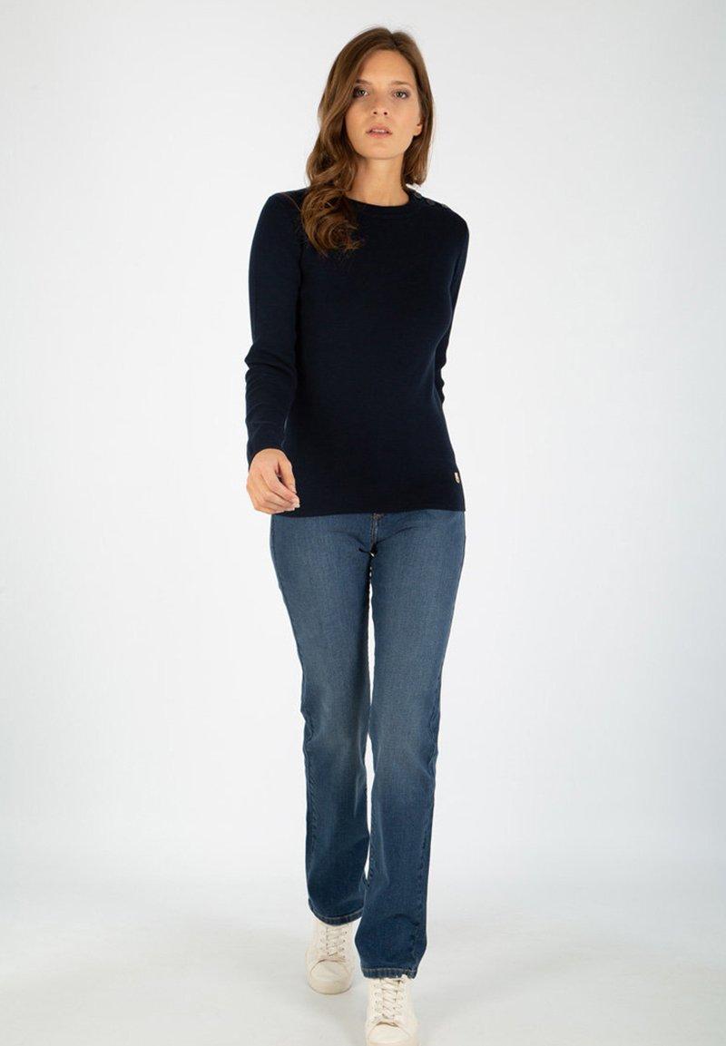 Armor lux - CARAVELLE - Straight leg jeans - stone
