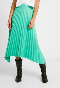 NORR - OLIVIA SKIRT - A-line skirt - strong mint - 0