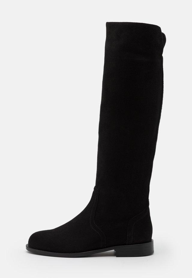Vysoká obuv - nero
