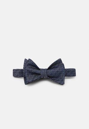 FINE STENCIL LOGO BOW TIE - Bow tie - navy