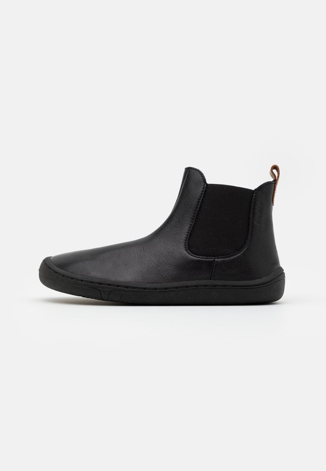 BAREFOOT CHELYS MEDIUM FIT UNISEX - Korte laarzen - black