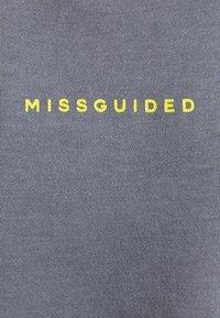 Missguided Tall - WASHED SWEAT - Sweatshirt - grey - 2