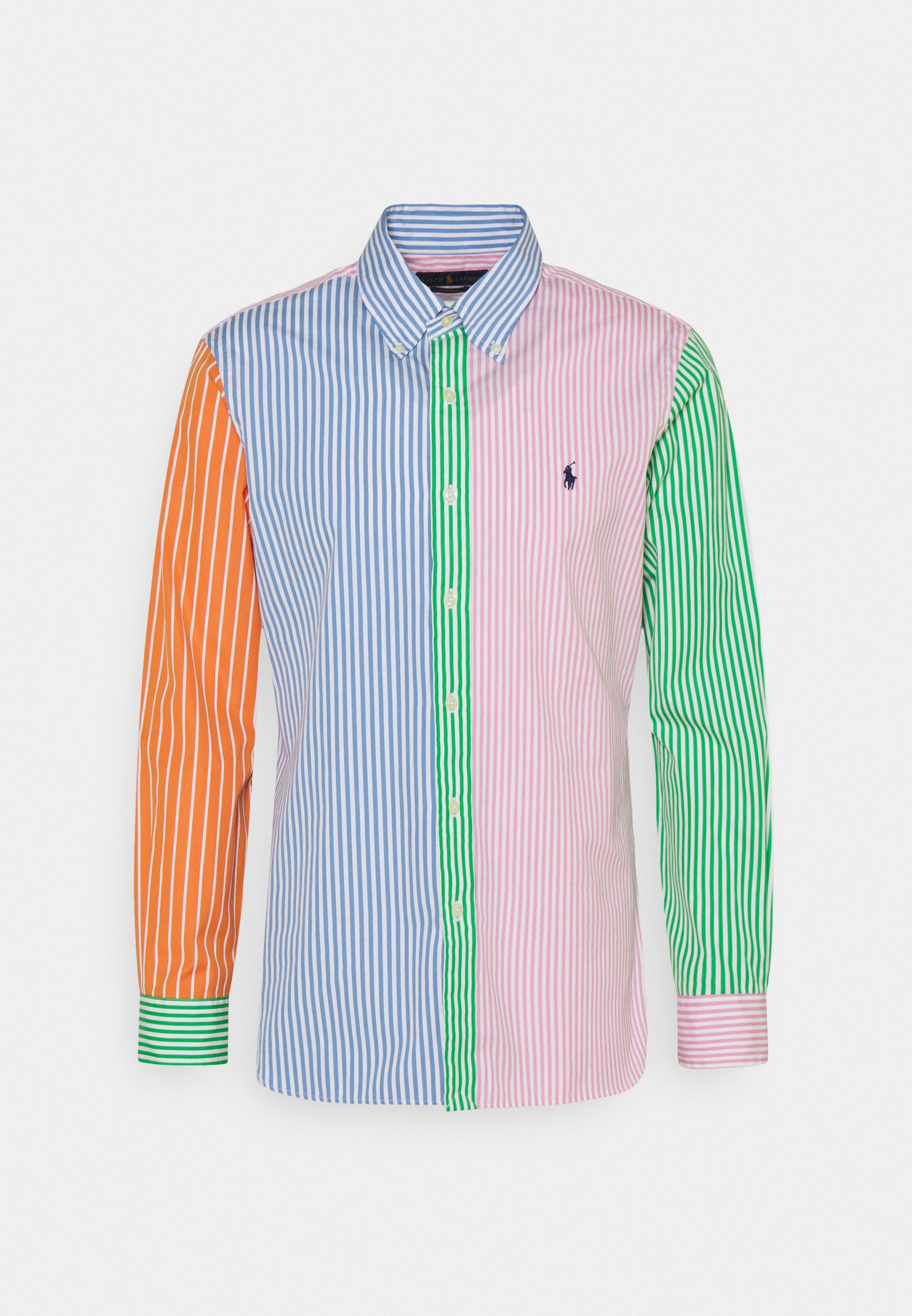 Uomo CUSTOM FIT STRIPED POPLIN FUN SHIRT - Camicia