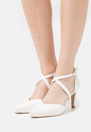 Classic heels - galassia bianco