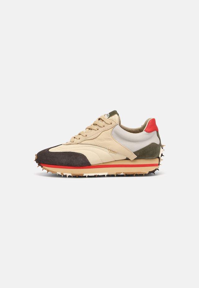 MA-TRIXX - Sneakers laag - asphalt/camel/khaki