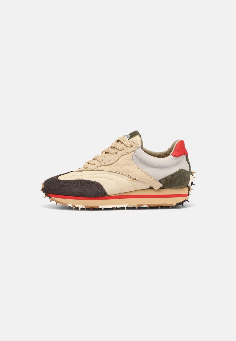 Bronx - MA-TRIXX - Sneakers laag - asphalt/camel/khaki