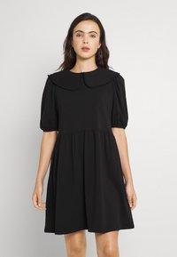 ONLY - ONLLIVE LOVE COLLAR DRESS - Vapaa-ajan mekko - black - 0