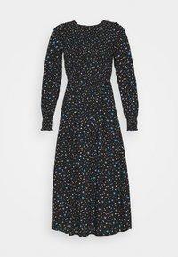 Dorothy Perkins - SMOCKED MIDI  - Day dress - black - 4