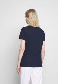 Nike Sportswear - TEE - Print T-shirt - obsidian/white - 2