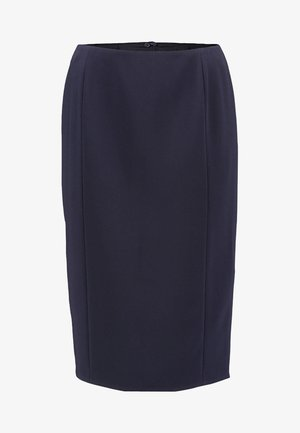 BASLER - Pencil skirt - navy