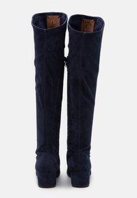 L'Autre Chose - BOOT ZIP - Stivali sopra il ginocchio - abyss - 3