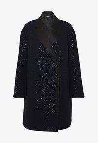 KARL LAGERFELD - SEQUIN COAT  - Classic coat - navy/black - 4