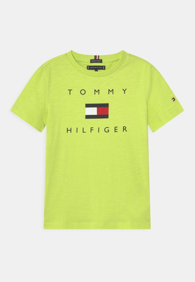 LOGO - Print T-shirt - sour lime