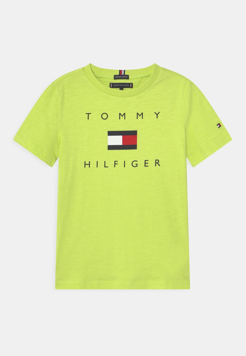 Tommy Hilfiger - LOGO - T-shirt print - sour lime