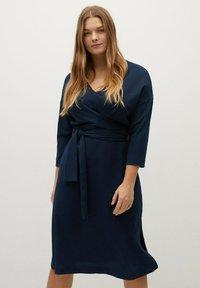 Violeta by Mango - DOMIN - Jumper dress - dark navy - 0
