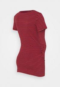 GAP Maternity - PURE CREW - Basic T-shirt - red - 1