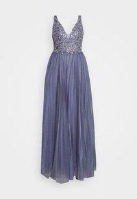 Luxuar Fashion - Společenské šaty - rauchblau - 5