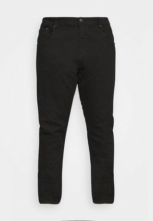 Straight leg jeans - clean black