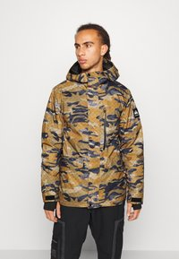 Quiksilver - MISSION - Snowboard jacket - military olive - 0