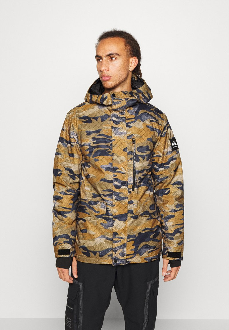 Quiksilver - MISSION - Snowboard jacket - military olive