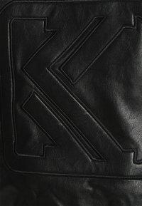 Karl Kani - RETRO JACKET - Faux leather jacket - black - 5