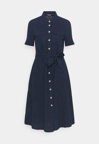 Marks & Spencer London - MIDI SHIRT DRESS - Skjortekjole - dark blue - 0