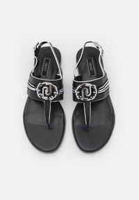 Liu Jo Jeans - ERIN  - T-bar sandals - black - 5