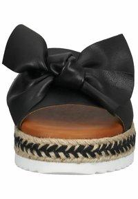 Sansibar Shoes - Muiltjes - schwarz - 6