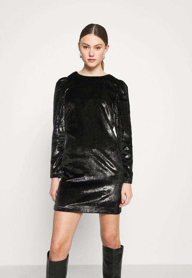 ONLMAIRA LEXA PUFF DRESS - Sukienka koktajlowa - black