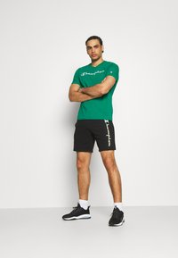 Champion - CREWNECK  - T-shirt con stampa - green - 1