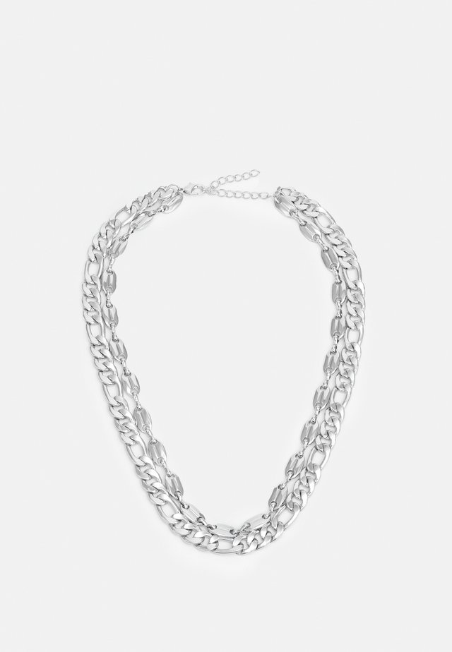 LAYERING BASIC NECKLACE UNISEX - Necklace - silver-coloured