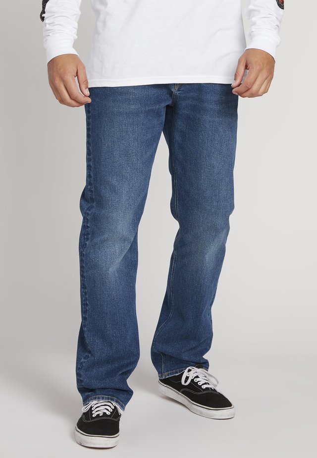KINKADE - Jeans a sigaretta - whisky blue