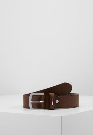 INLAY BELT  - Belt - brown