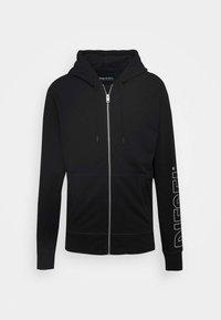 Diesel - BRANDON - veste en sweat zippée - black - 3
