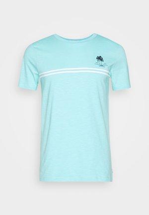 Print T-shirt - soft sky blue