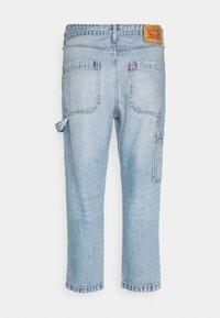 Levi's® - TAPER CARPENTER CROP - Jeans a sigaretta - dark indigo - 4