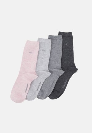 WOMEN CREW SPARKLE HOLIDAY LOLA 4 PACK - Socks - pink combo
