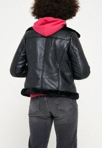 LolaLiza - Faux leather jacket - black - 2