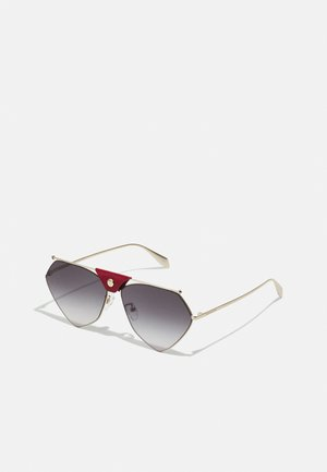 UNISEX - Sunglasses - gold-coloured/grey