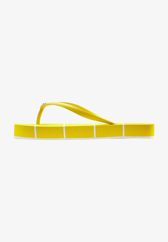 Teensandalen - gelb