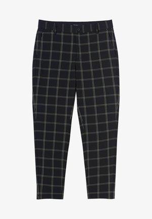 Chino kalhoty - mottled black