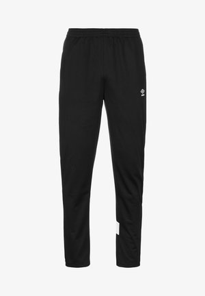 Tracksuit bottoms - black / brilliant white