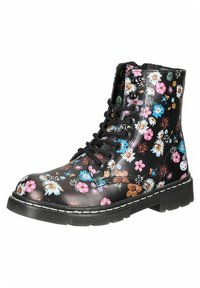 DOCKERS - Lace-up ankle boots - schwarz/orange - 1