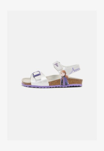 ADRIEL GIRL DISNEY FROZEN GEOX- Sandals - Sandalen - silver/lilac