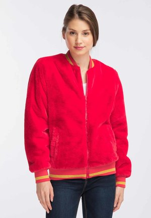 Bomber Jacket - red