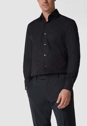 POPELINE - Formal shirt - schwarz