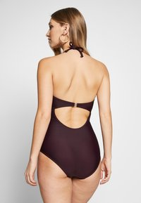 Bruno Banani - SWIMSUIT LOU - Plavky - bordeaux - 2